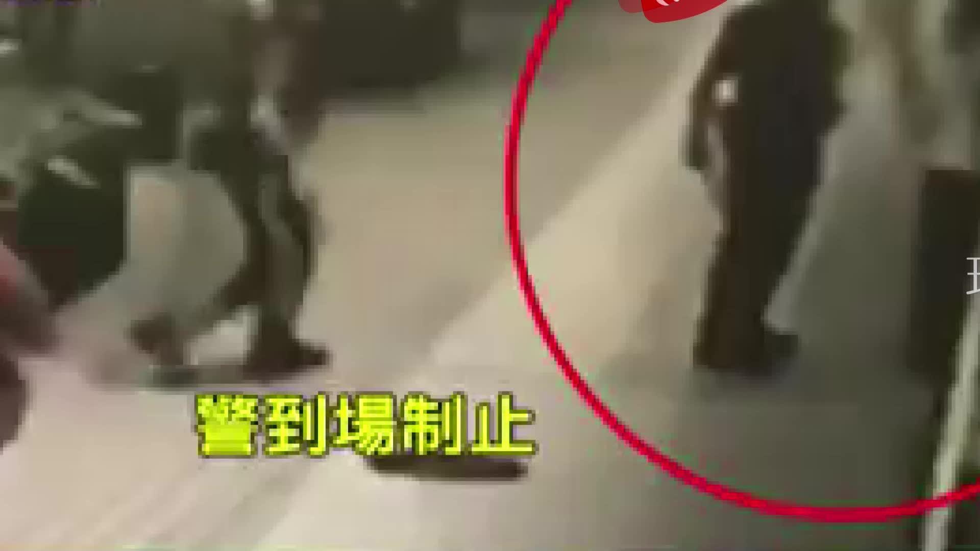 6旬女子挥砍菜刀在台北中正纪念堂随机砍人……