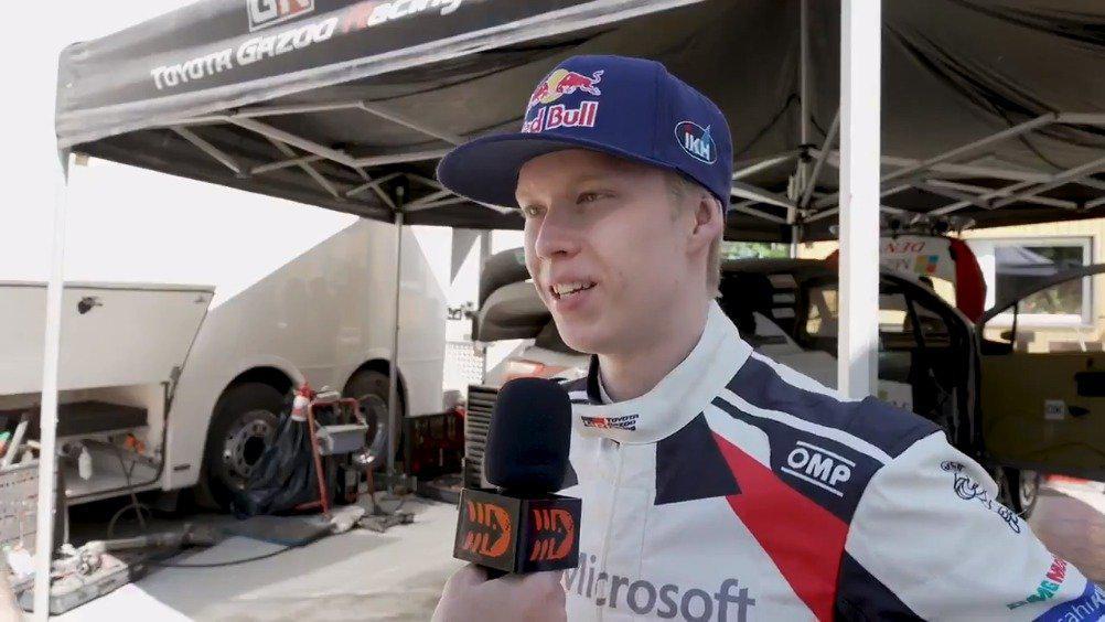视频:芬兰车手罗万佩拉测试丰田雅力士WRC赛车