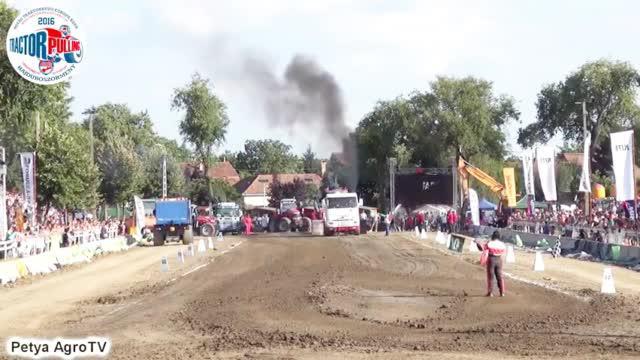 卡车拖车比赛,环保部门跃跃欲试