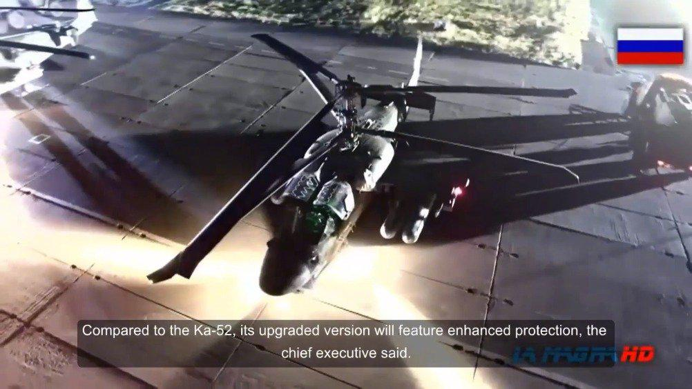 俄罗斯升级版Ka-52直升机将于2022年完成试验