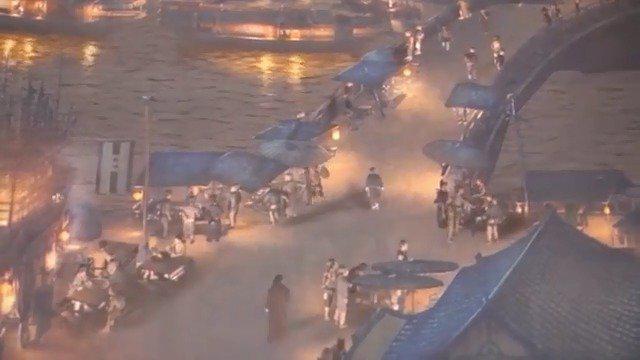 上海世博会中国馆的镇馆之宝动态版《清明上河图》看一次震撼一次……