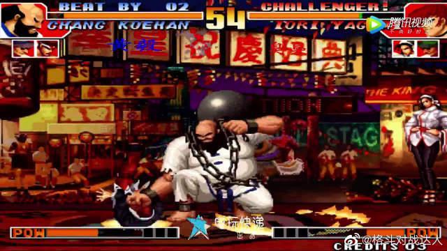 谁是拳皇97猴王?黄毅实战上演超强猴子连招!
