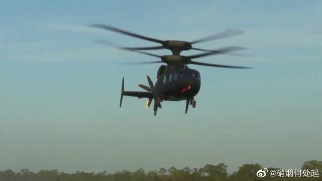 """黑鹰的继承者,美军下一代直升机,西科斯基-波音SB-1""""挑衅""""!"""
