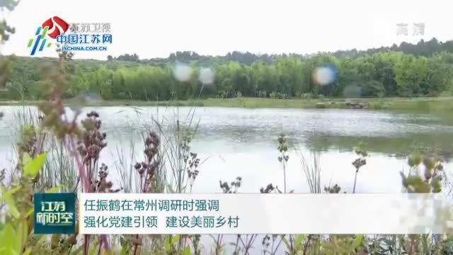 任振鹤在常州调研时强调强化党建引领 建设美丽乡村