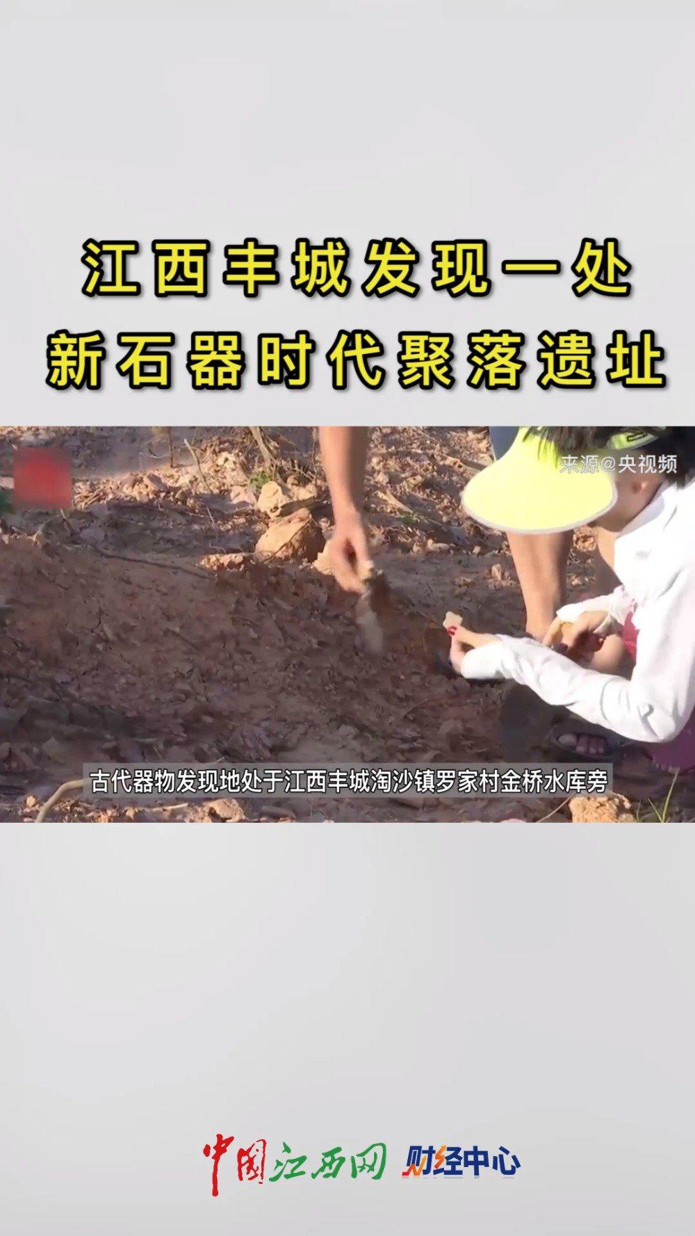 江西丰城发现一处新石器时代聚落遗址