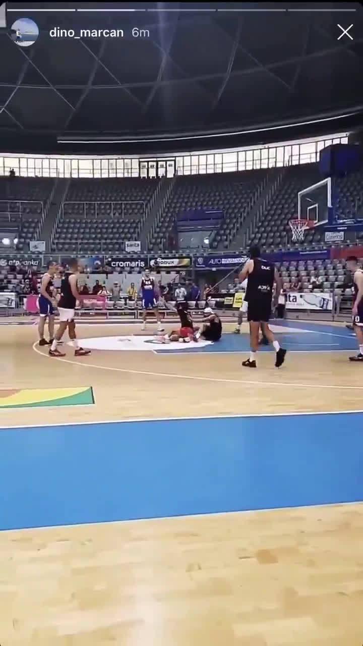 小德参加篮球赛,丘里奇、迪米特洛夫、兹维列夫也大显身手