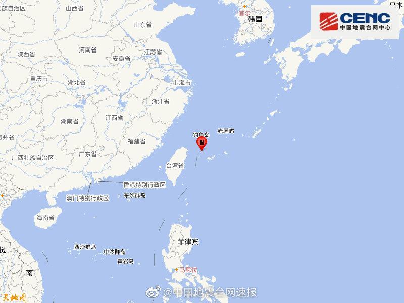 【摩天注册】岛发生5摩天注册3级地震图片