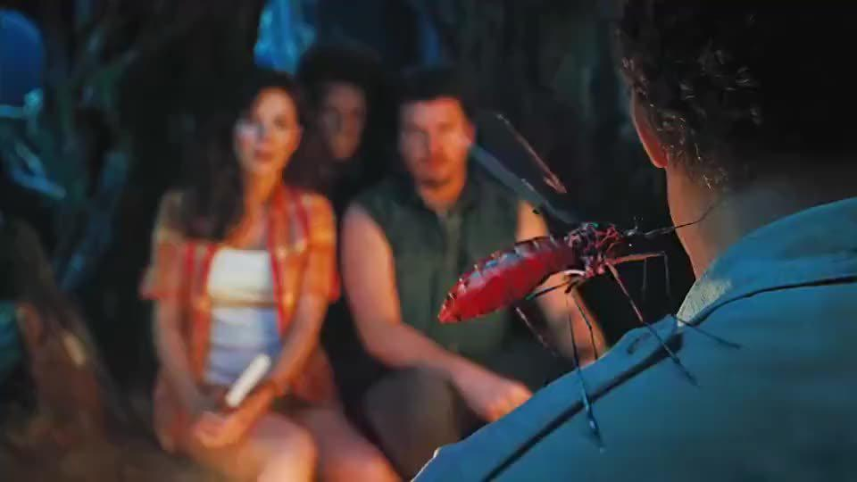 这个蚊子一下给吸贫血了。《失落的大陆》
