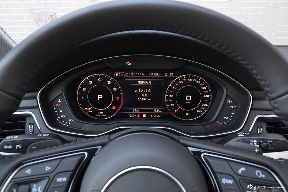 2019款奥迪A5 2.0T自动Sportback 45TFSI时尚型