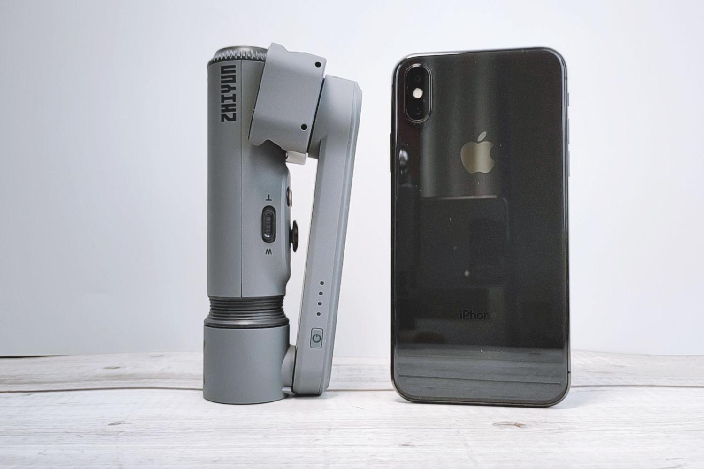 年轻人第一款vlog神器,智云Smooth-X手机云台