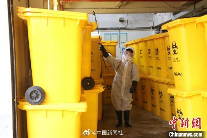 1月20日以来全国累计处置医疗废物44.7万吨图片