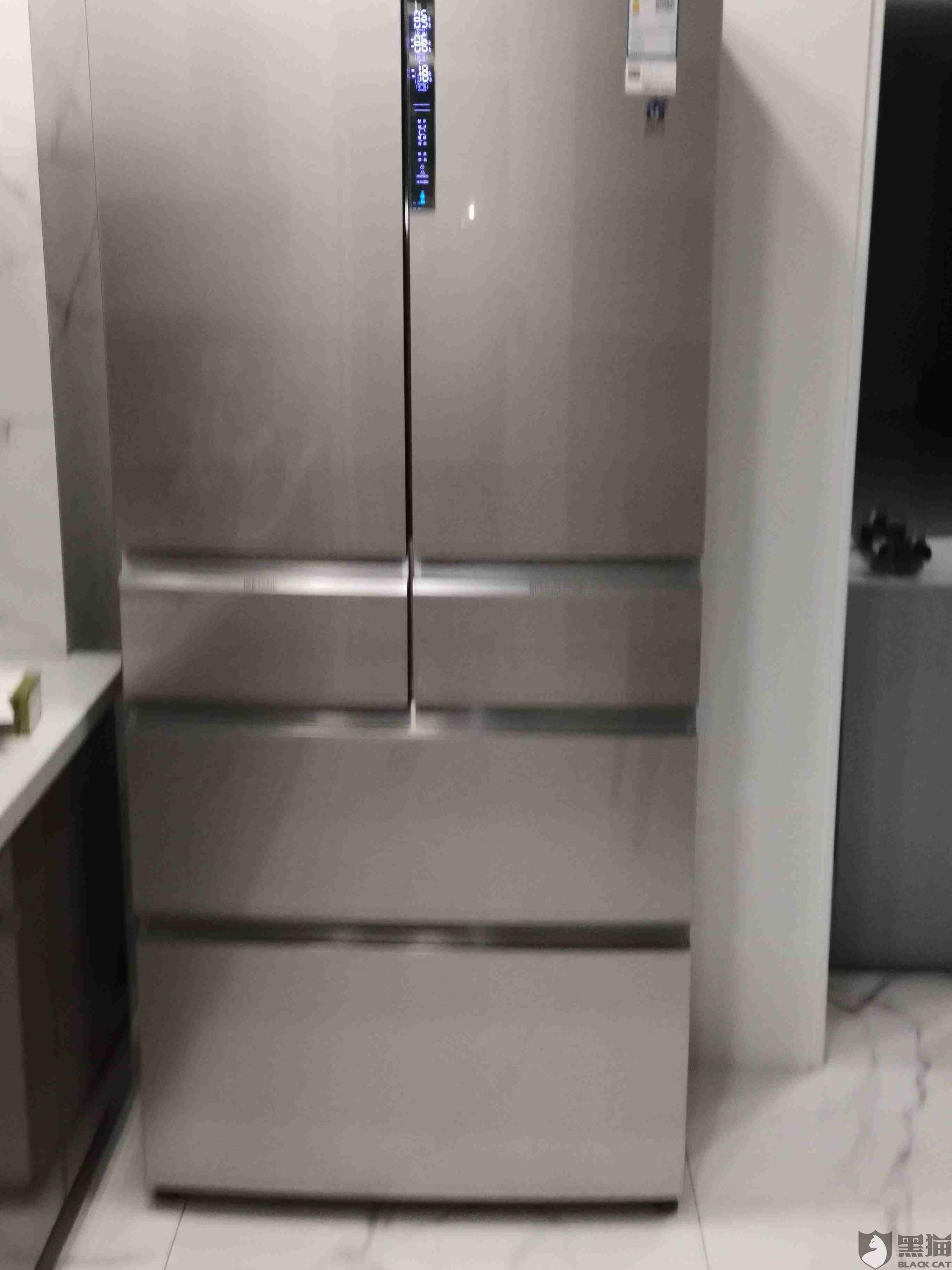 黑猫投诉:海尔卡萨帝高端冰箱,两次换货收到的都是故障机