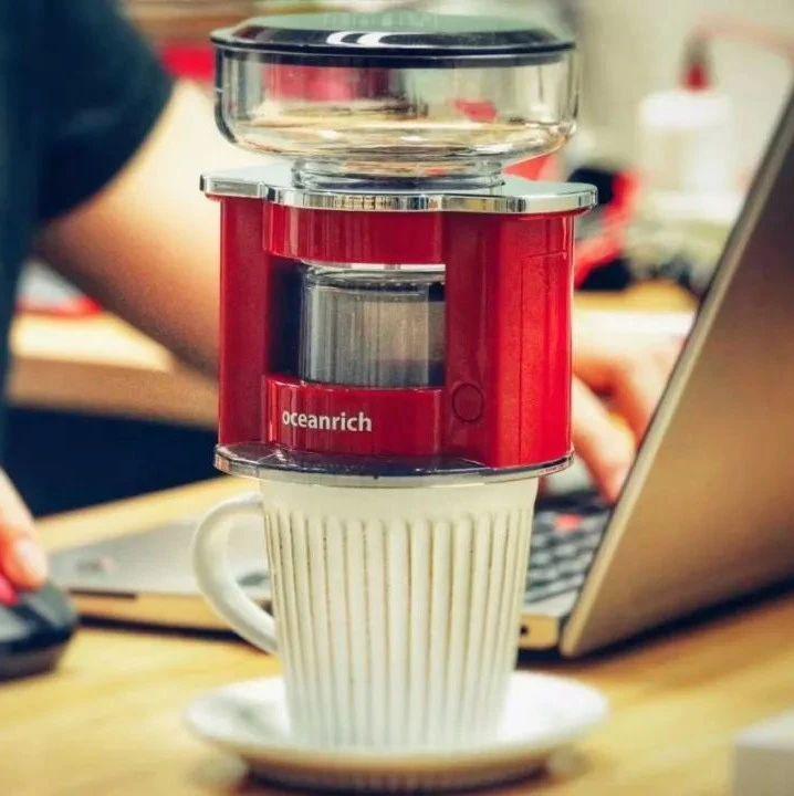 你有多久没喝咖啡了?自动手冲旋转咖啡机,做出一杯非常好喝的手冲咖啡!