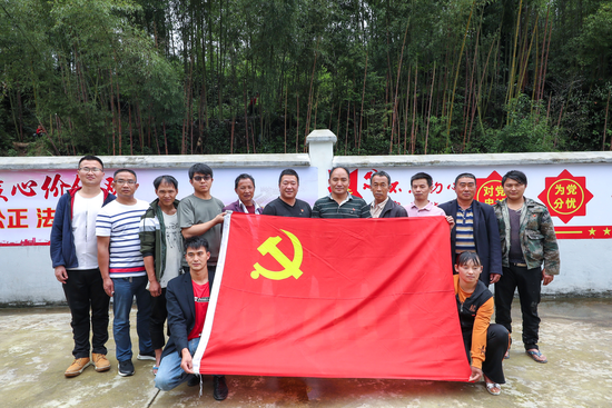 云南龙陵:竹林深处党旗艳 支部建在产业链