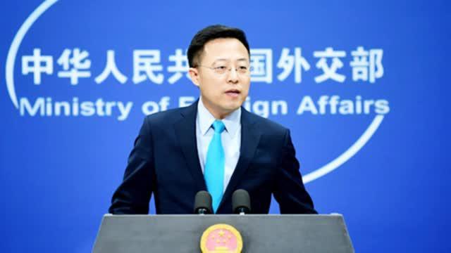 蓬佩奥妄称中国企业在新疆企业被迫劳动   赵立坚190秒戳破其丑恶面目