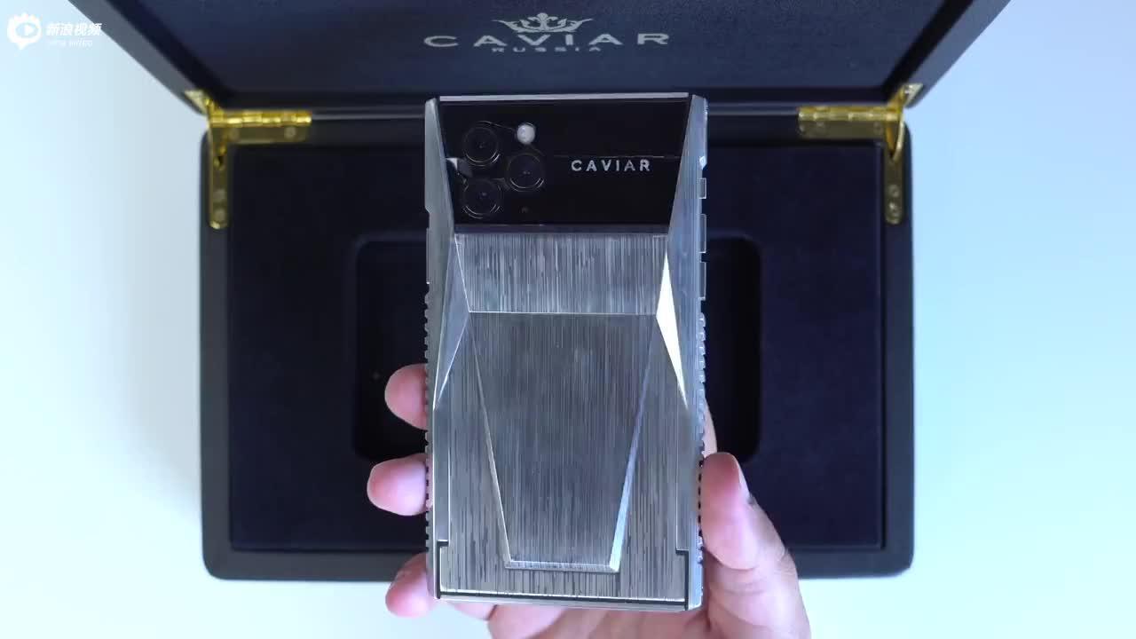Cybertruck风格的奢侈品手机iPhone 11 Pro改装版上手