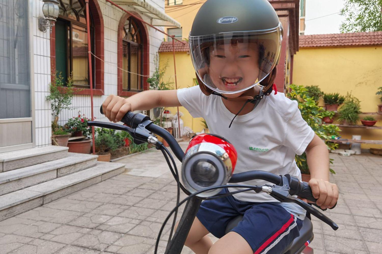 Smart4u骑士复古头盔:帅气安全,骑行安心