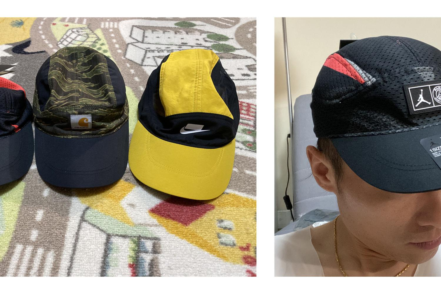 #我的运动指南#AJ巴黎圣日耳曼TAILWIND运动帽