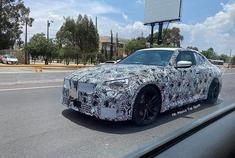 近日,外媒在墨西哥街头发现了下一代BMW G42 2系Coupe测试车