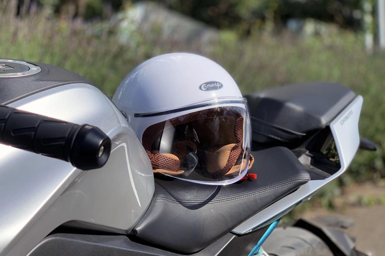一盔一带·安全出行 Smart4u骑士复古头盔