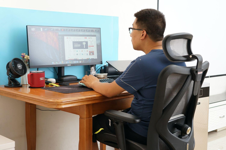 soho居家办公新宝座:西昊M57 MASTER椅体验
