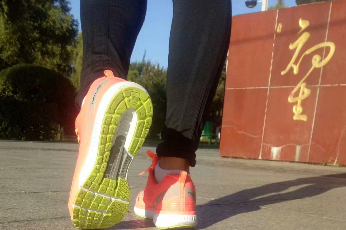 我的运动指南必迈 21k lite 跑鞋 简单开箱