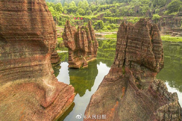 [杏悦]湖南湘西甘肃杏悦张掖获批世界地质公园图片