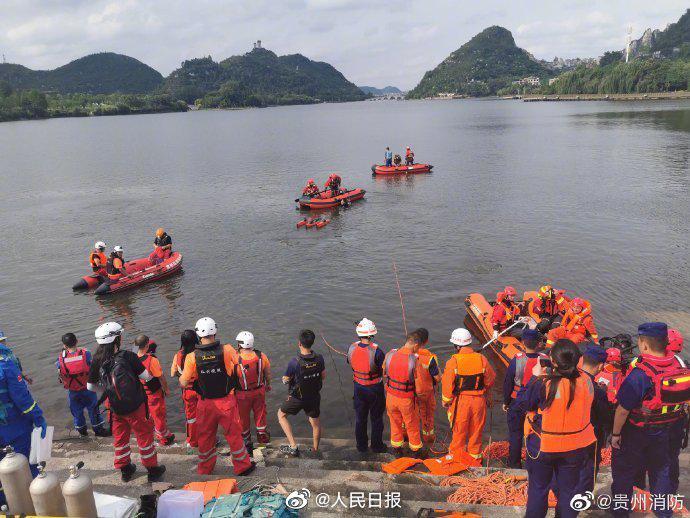 贵州安顺公交坠湖15人在医院救治 1名伤者已出院图片