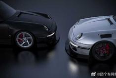 微博汽车  保时捷Porsche Project 993,超级帅气的波蛙!