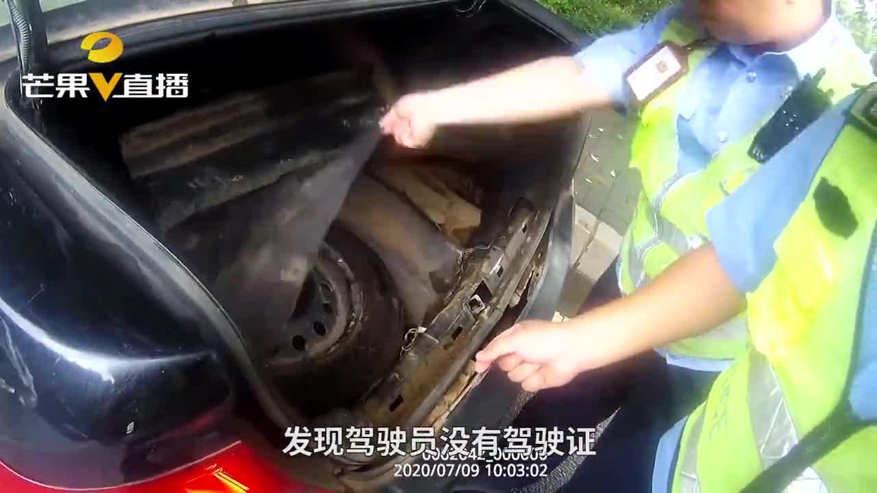 男子无证驾驶报废车上路,被查时酒气熏天,将面临3500元罚款