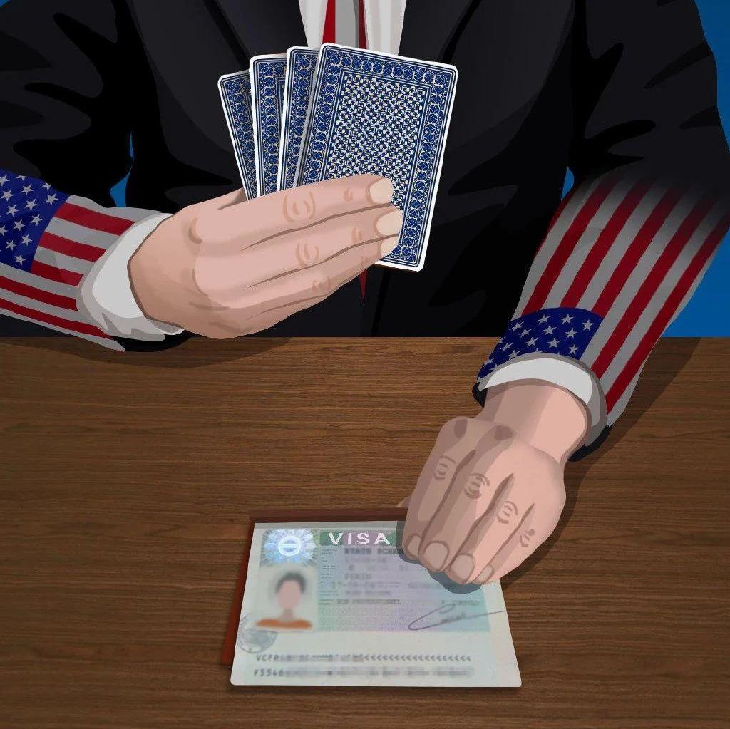 在美国政客手中,没有什么不能成为攫取利益的牌   画里有话