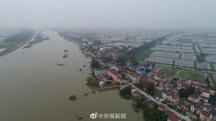 [杏悦]阳江和石臼杏悦湖区域防汛一级响应启图片