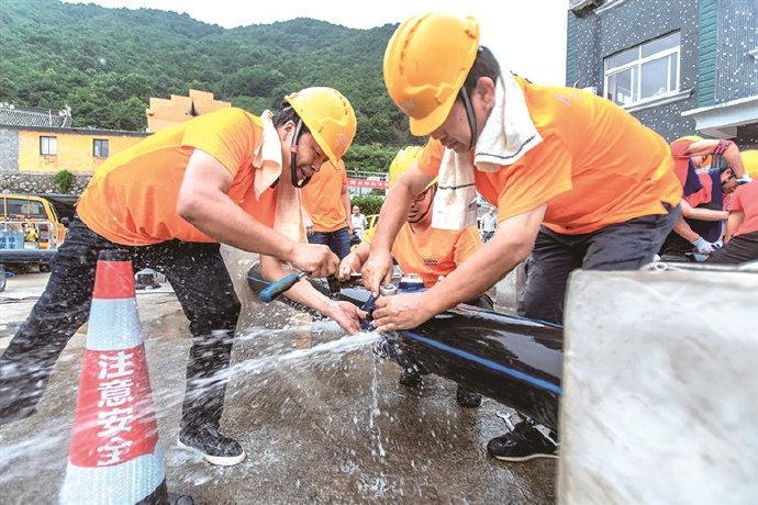 象山举办供水管网抢修技术比武 4支队伍20名员工参赛