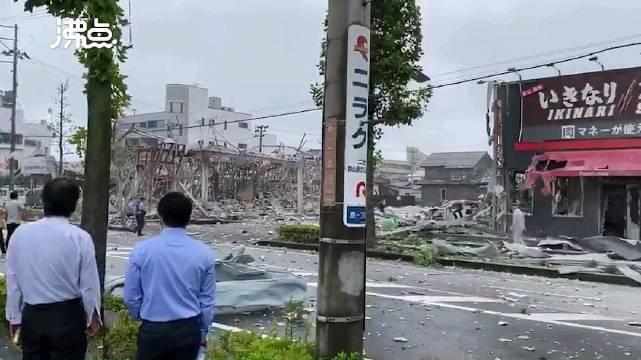 日本福岛火锅店发生爆炸已致1死17伤 目击者:像地震了一样