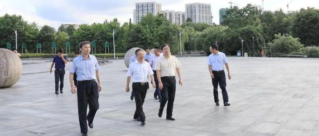 省政协副主席陈小平一行来校看望省政协委员