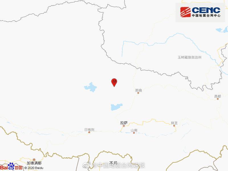 【恒达官网】曲市班戈县发生40级地恒达官网震图片