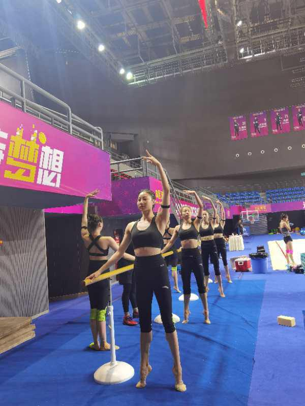 助力备战东京奥运会!国家艺术体操队转训四川