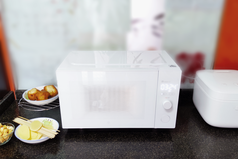 米家智能微烤一体机开箱,能烧烤的微波炉