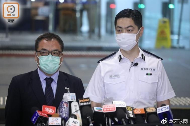 香港警方通报黎智英被捕案件:有传媒高层 通过外国账户资助团伙寻求外国制裁香港