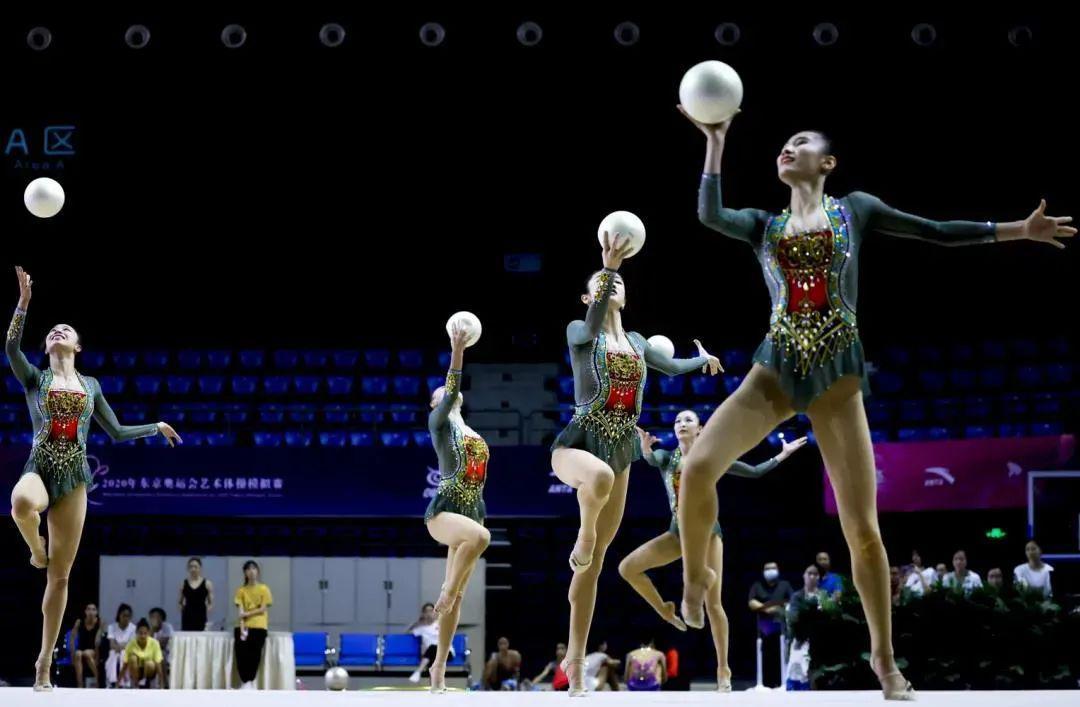《【煜星平台网站】艺术体操队模拟实战收获多:目标站上奥运领奖台》