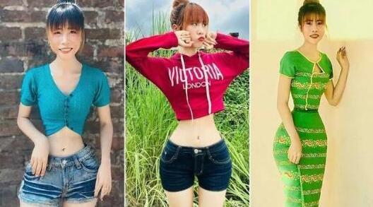 34.7厘米!缅甸女孩成全球腰最细的人 面对P图质疑称天生吃不胖