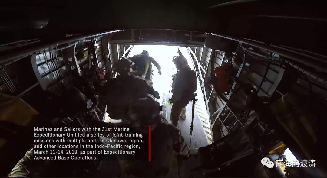 美媒:美军针对攻占南海岛礁演练新跳岛战术(图)