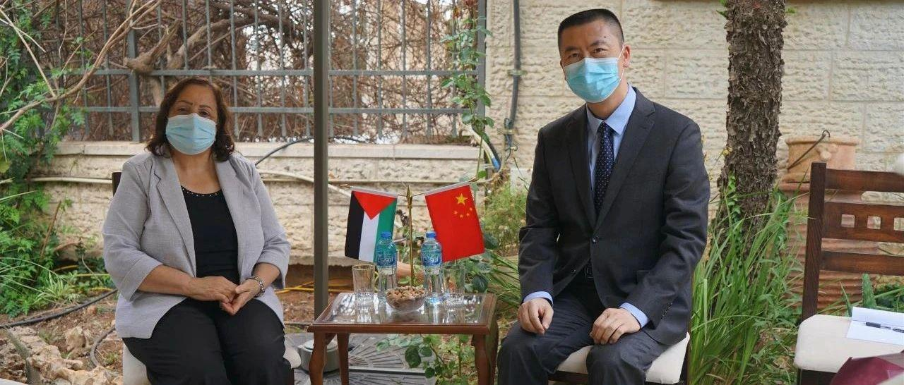 【驻外掠影】巴勒斯坦卫生部长代表巴政府感谢中国政府和人民无私帮助巴方抗击疫情