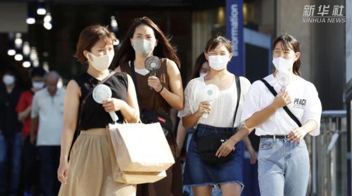 日本遭遇高温天  8月东京都5人中暑死亡