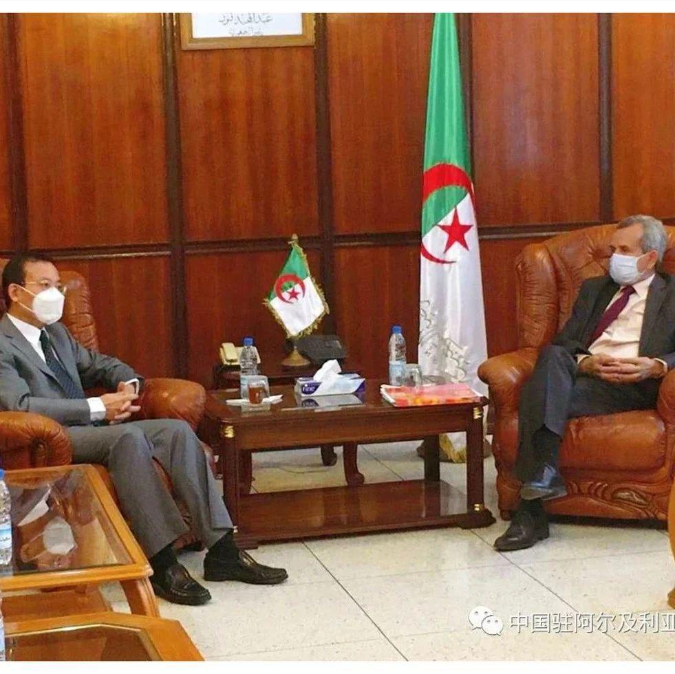 【驻外掠影】阿尔及利亚卫生部长表示希望继续加强同中方在医疗卫生等领域的交流与合作