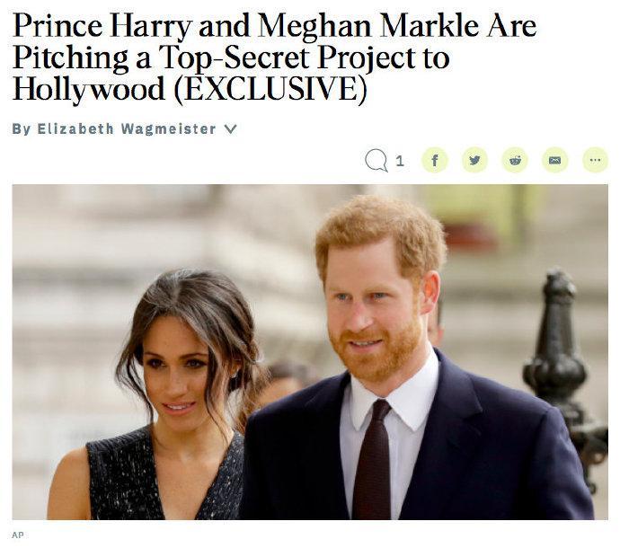 哈里王子和梅根·马克尔