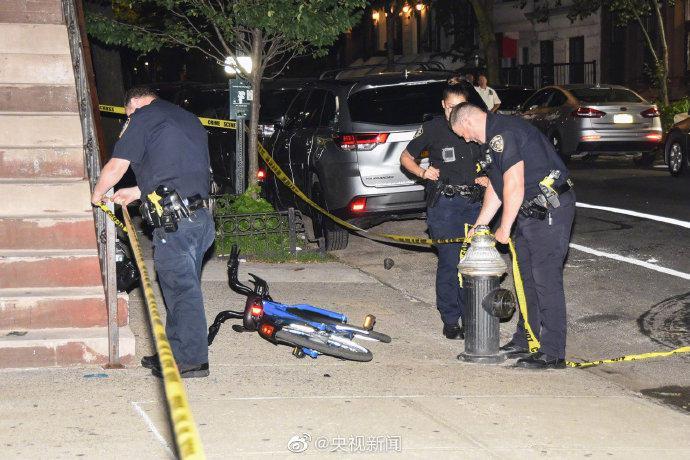 美国纽约周末发生多起枪击案,已致1死7伤