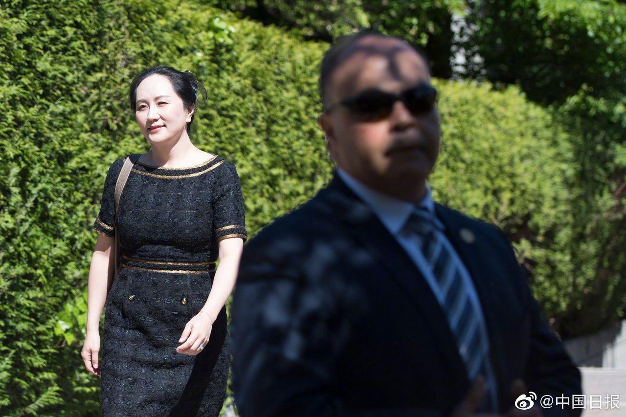 加拿大法庭否决孟晚舟关于公开更多机密文件的请求