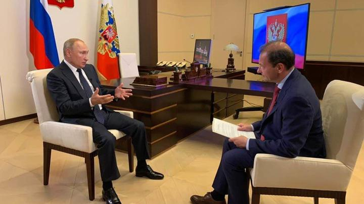 俄罗斯总统普京谈白俄罗斯局势