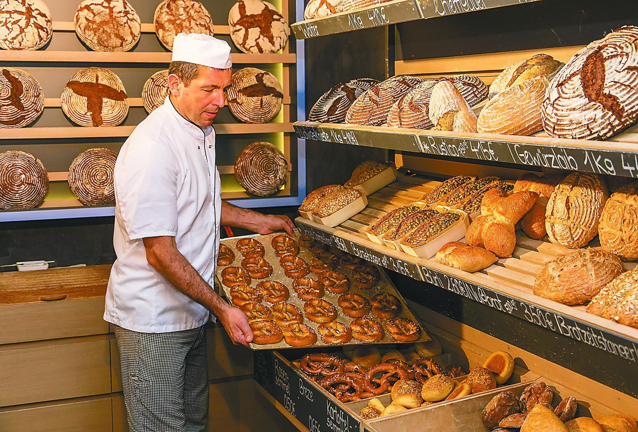 德国,3.5万家传统面包店很低调